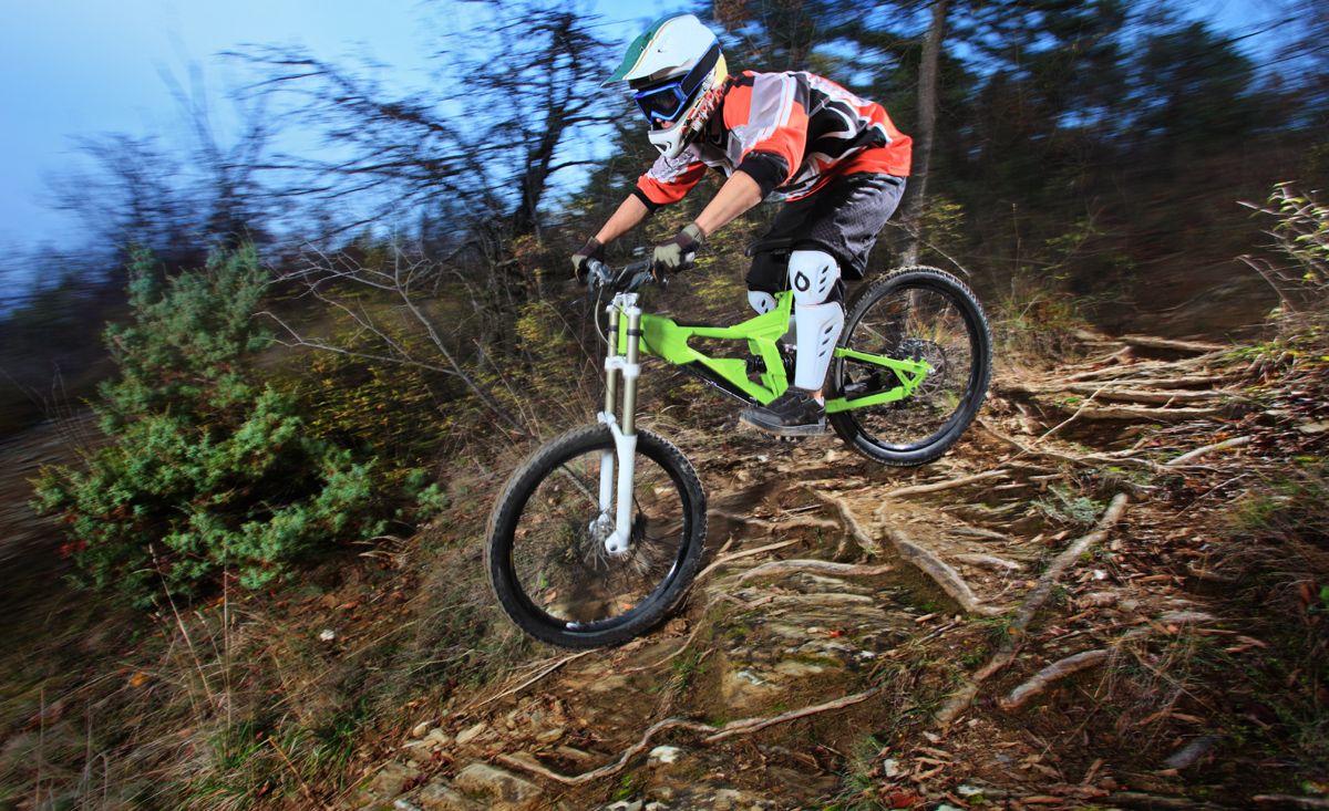 Action & Fun auf den Downhill-Stecken